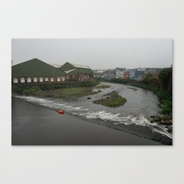 River Don, Sheffield Canvas Print