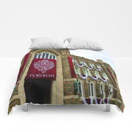 Keating Hall at Fordham University Commencement  Comforters