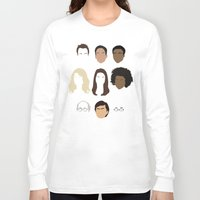 community Long Sleeve T-shirts featuring Community by Bill Pyle
