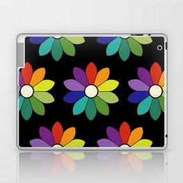 Flower pattern based on James Ward's Chromatic Circle (enhanced) Laptop & iPad Skin