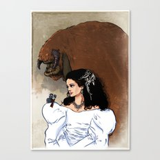 Beauty and Beast Canvas Print