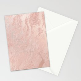 Rose Gold Foil Stationery Cards