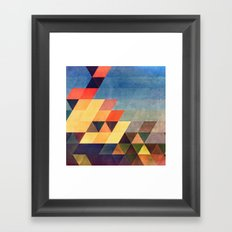 chyv yp Framed Art Print