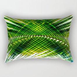 Palm Frond Strong [green] Rectangular Pillow