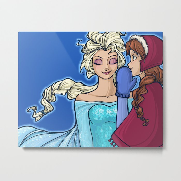 """""""The Untold Story of the Daughters of Arendelle"""" Metal Print"""
