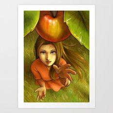 Last apple this summer Art Print