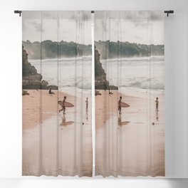 Bali - Uluwatu - Surfing - Indonesia - Travel - Tradition. Little sweet moments. Blackout Curtain