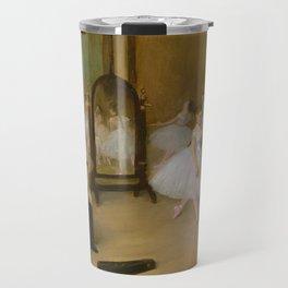 The Dancing Class by Edgar Degas, 1870 Travel Mug