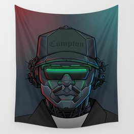 Robot Rappers - Eazy Wall Tapestry