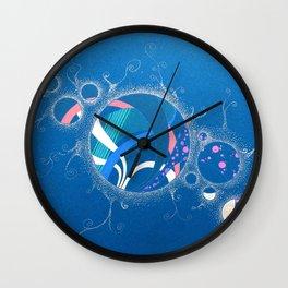 SuperNova In Bubbles Wall Clock