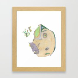 Drawing #20 Framed Art Print