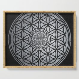 Sacred Unity - Sacred Geometry Serving Tray