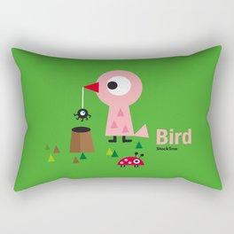 Mr. Bird Rectangular Pillow