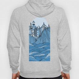 Sea cliff Town Hoody