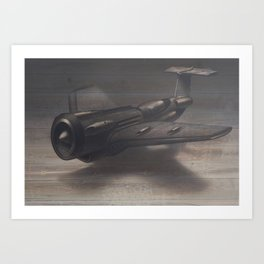 Old airplane 3 Art Print