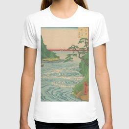 Sea. Ukiyoe Landscape T-shirt