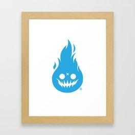 Fireface Framed Art Print