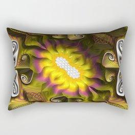 Gnarly Sunflower Rectangular Pillow