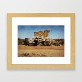 Silverton Hut Framed Art Print
