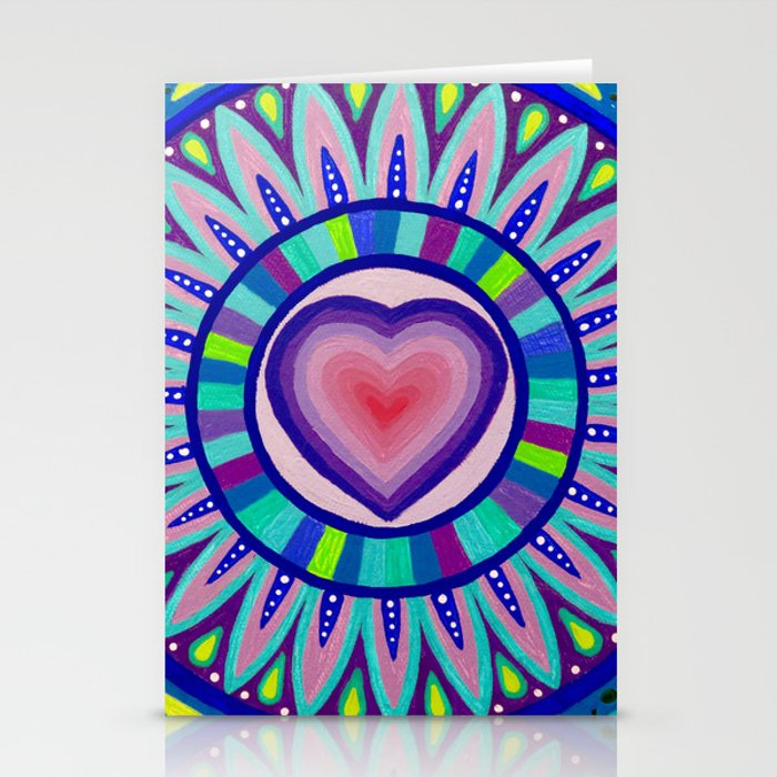 Heart Beat Stationery Cards