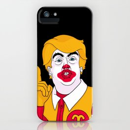McDonald Trump iPhone Case