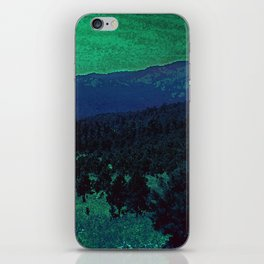 The Sleeping Mountains iPhone Skin