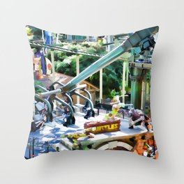 Grab Shell and Head to Mall of America Throw Pillow