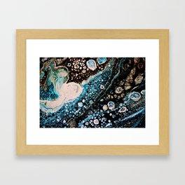 Explosion of Cells Framed Art Print