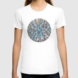 Circular Palm Trees - Geometric Photographic T-shirt