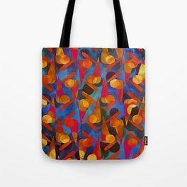 Funky Pattern Tote Bag