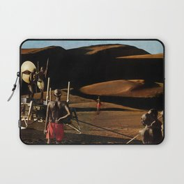 The gods must be crazy   Collage Laptop Sleeve