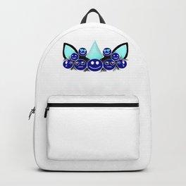 (tshirt) Emoji Unicorn Face (invert) Backpack