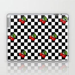Checkered Cherries Laptop & iPad Skin