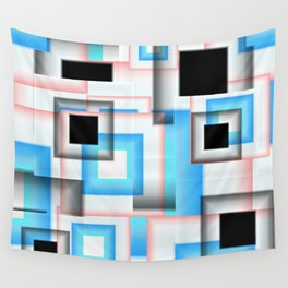 Abstract Square 7 Wall Tapestry