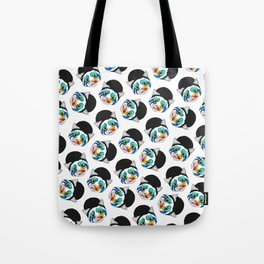 Ga Ga Cat Head Tote Bag