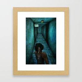 O ciume Framed Art Print