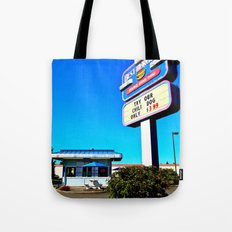Best Burgers Drive-In Tote Bag