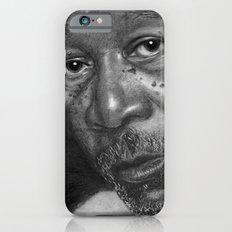 Morgan Freeman Traditional Portrait Print iPhone 6s Slim Case