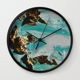 Golden Marine Wall Clock