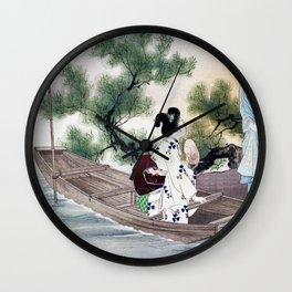 Mizuno Toshikata - YUSUZUMI - Top Quality Image Edition Wall Clock