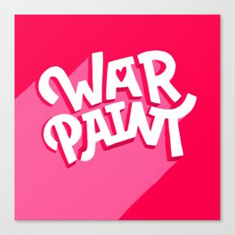 war paint Canvas Print