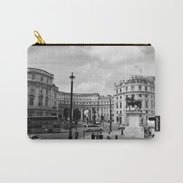 PICCADILLY CIRCUS B&W Carry-All Pouch