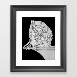 Ivory Tower (v3) Framed Art Print