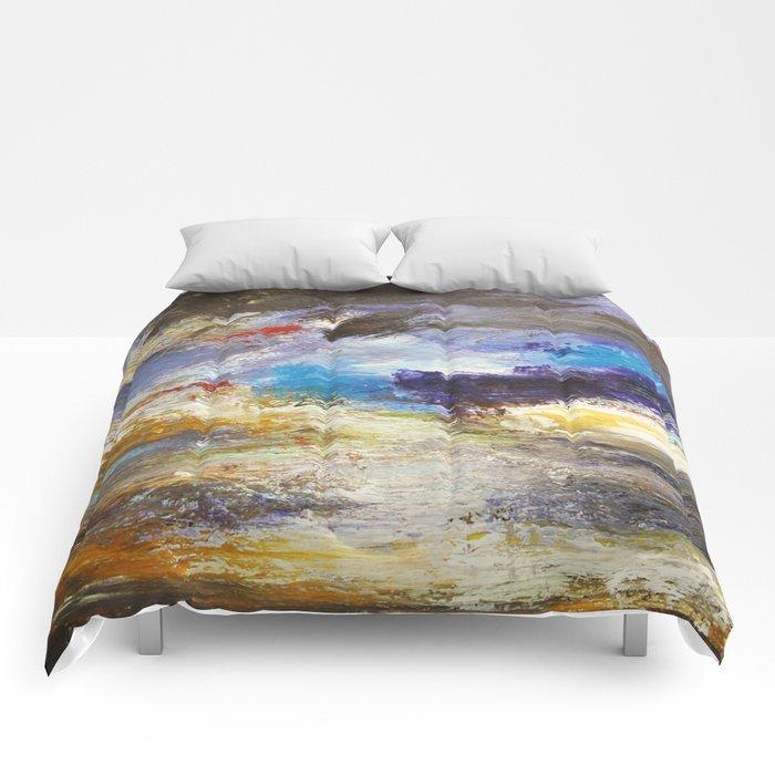 Cloudy Skies number 3 Comforters
