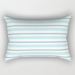 Stripes Lines horizontal - different colors of blue aqua #Society6 Rectangular Pillow