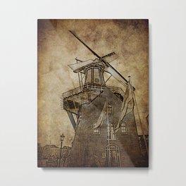 WindMill H Metal Print