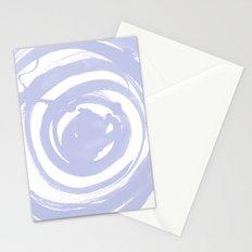 Swirl Pale Blue Stationery Cards