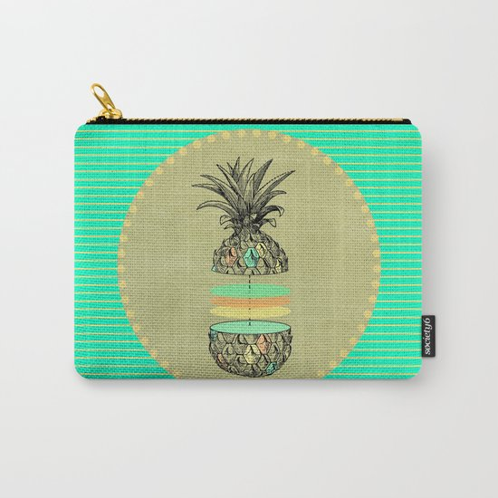 Sliced pineapple Carry-All Pouch