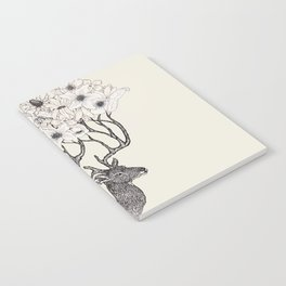 Antler Blooms Notebook