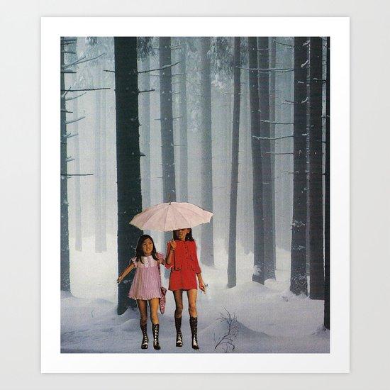 lost girls Art Print